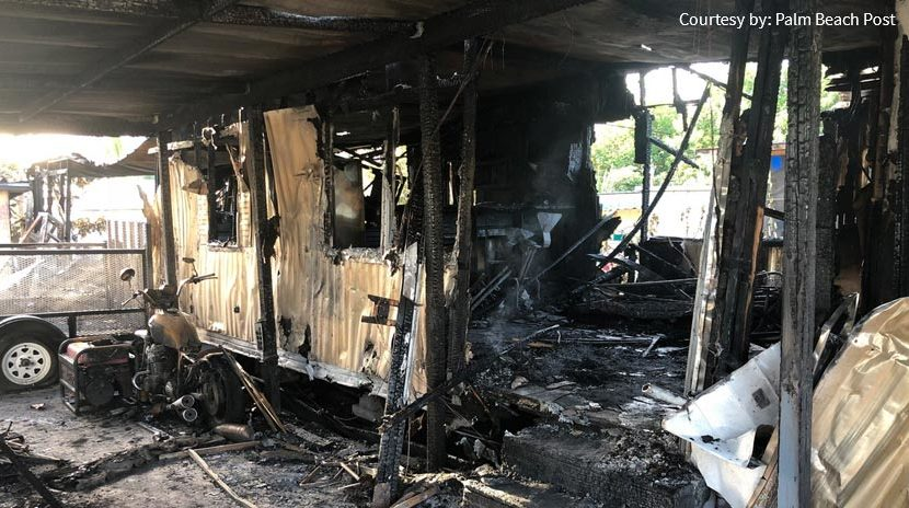 Home Fire Kills a Child While Injuring Two in Palm Springs