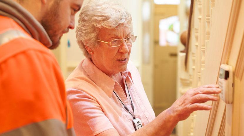 Seniors Home Security
