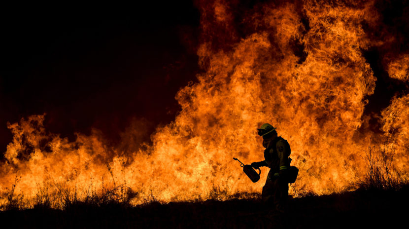 Massive Fire Continues to Grow in California