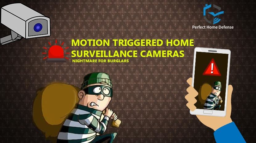 Benefits of Motion Triggered Home Surveillance Cameras