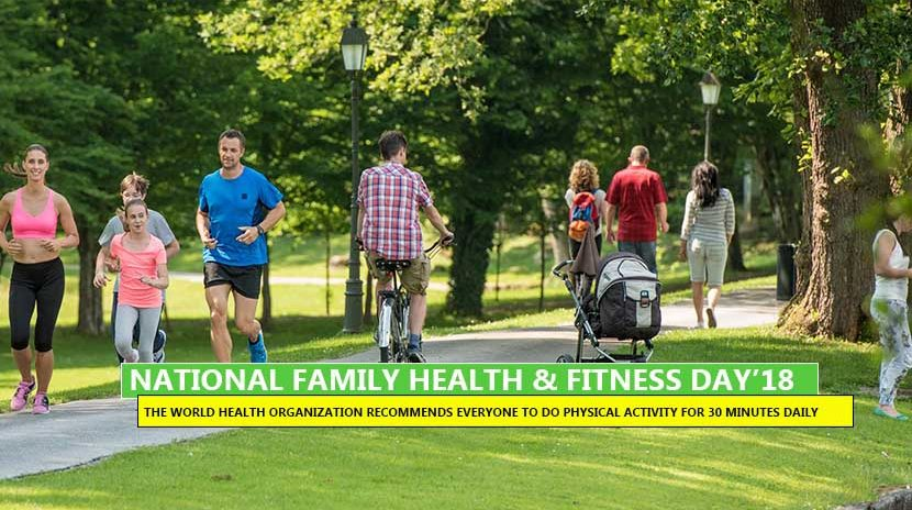 National Family Health & Fitness Day