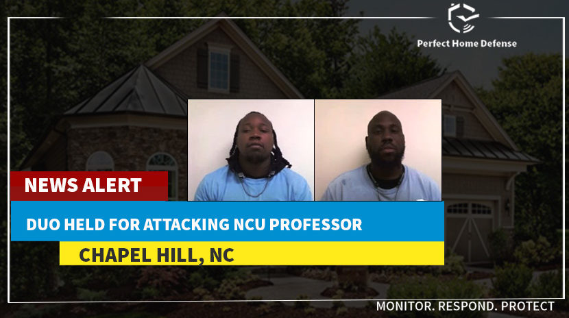 Two Burglars Are Caught Who Attacked NC Couple