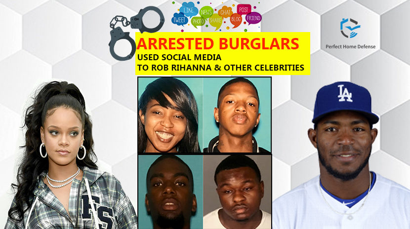 Arrested Burglars Use Social Media to Rob Rihanna
