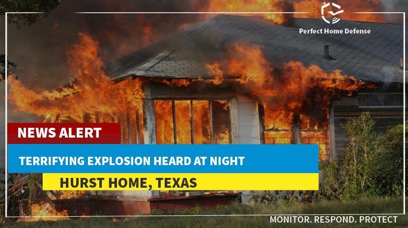 Home Explosion in Hurst