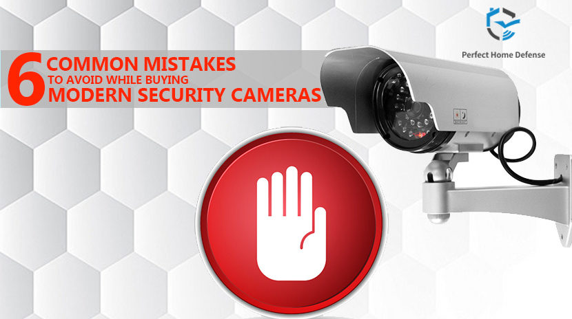 The Common Mistakes to Avoid While Buying Modern Security Cameras