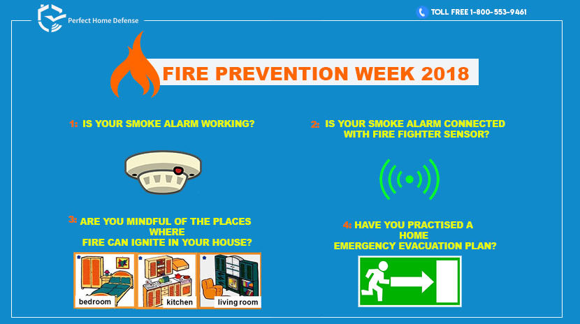 The National Fire Prevention Week 2018