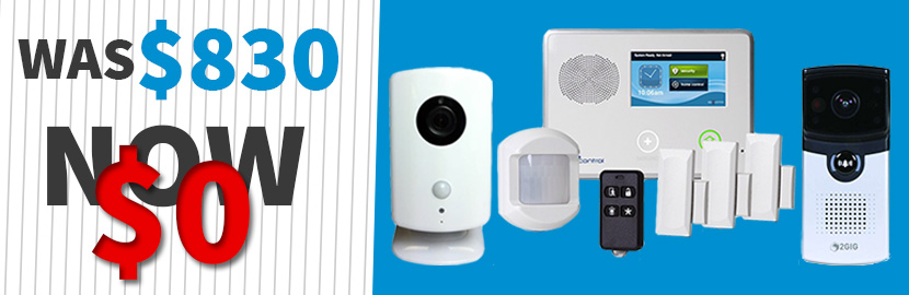 Free Home Alarm Security System