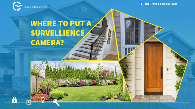 Where to Put a Surveillance Cameras at Your Home