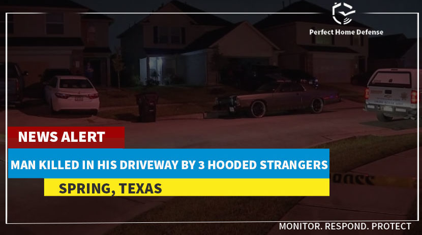 3 Hooded Strangers Killed Spring Man