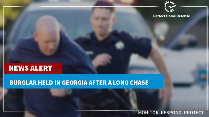 Burglar Held in Georgia After a Long Chase
