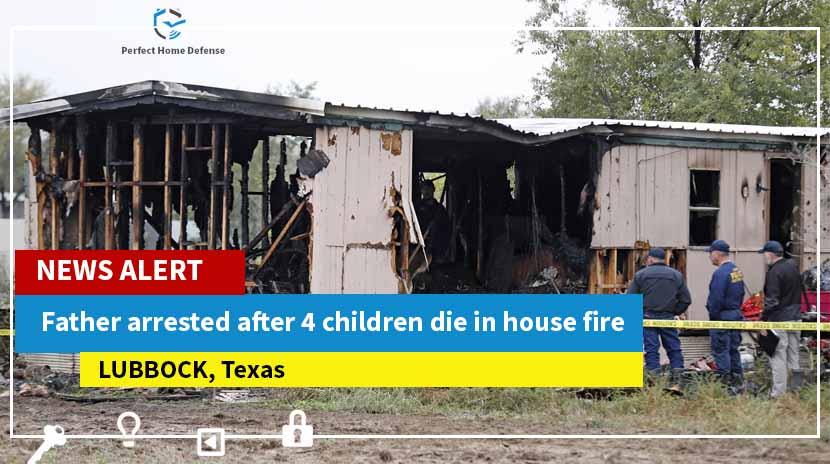 House Fire Kills 4 Texas Kids