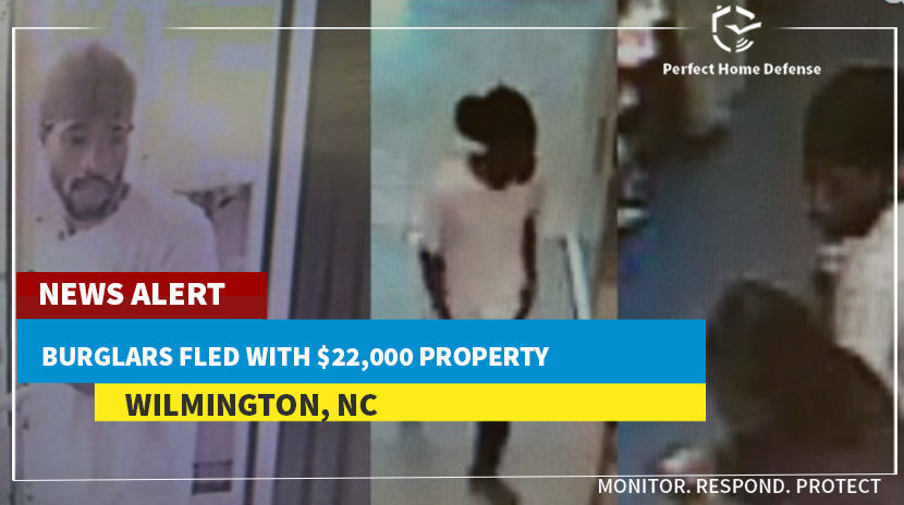 NC Burglars Fled with $22,000 Property