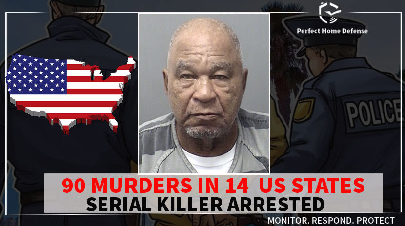 Samuel Little confessed to 90 murders in 14 US States