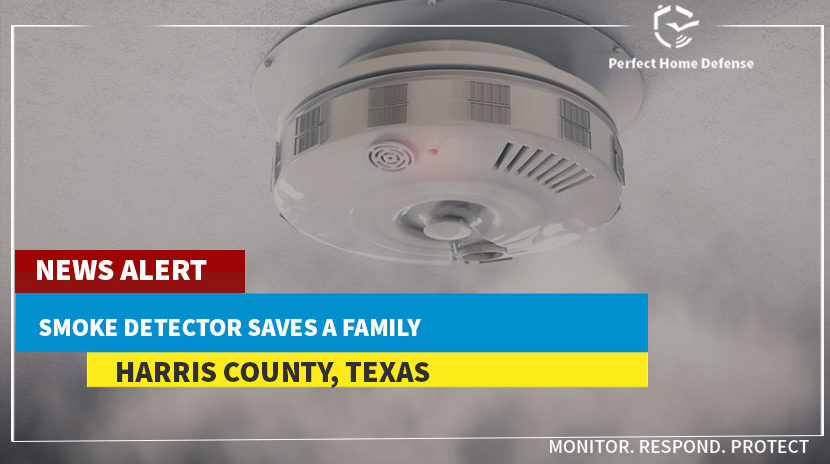 Smoke Detector Saves a Family in Harris County