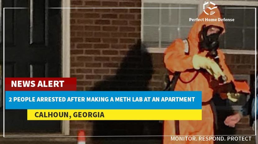 2 People Arrested After Making a Meth Lab at Apartment
