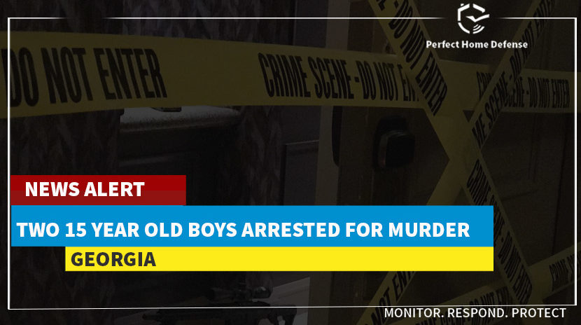 Two 15 year old boys arrested for murder by Georgia PD