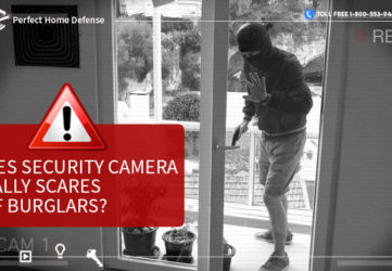 Does Security Camera Really Scares Off Burglars
