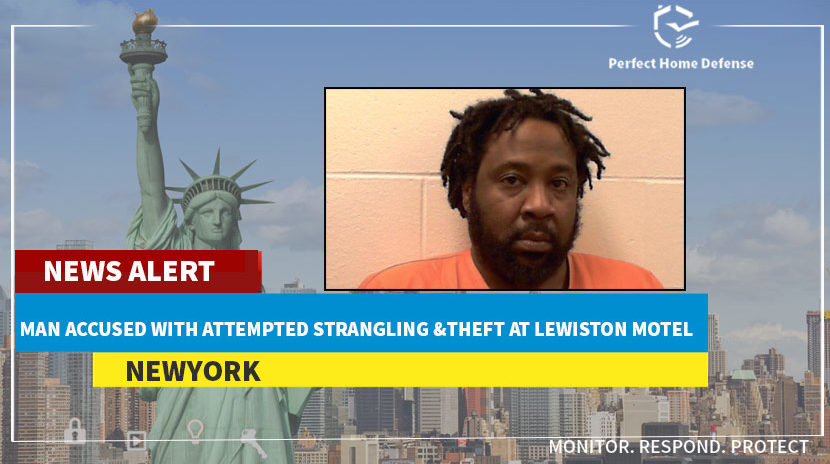 New York Man Accused With Attempted Strangling And Theft At Lewiston Motel