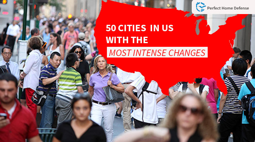 Crime Trends In The US: 50 Cities with The Most Intense Changes