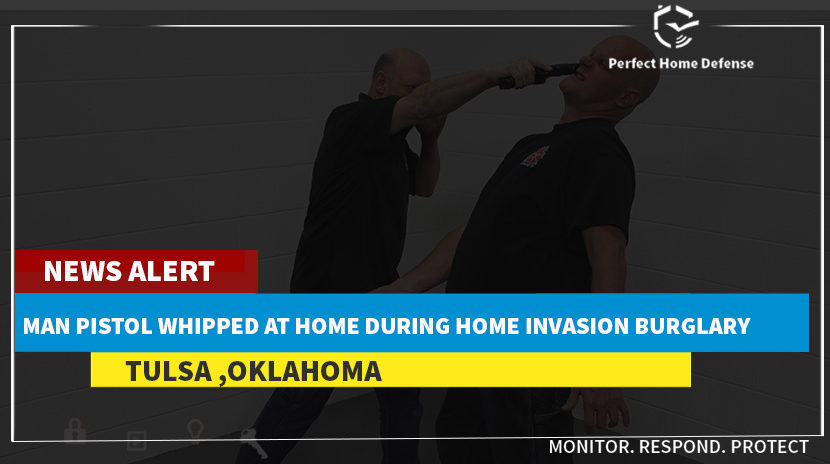 Man Pistol Whipped At Home During Home Invasion Burglary