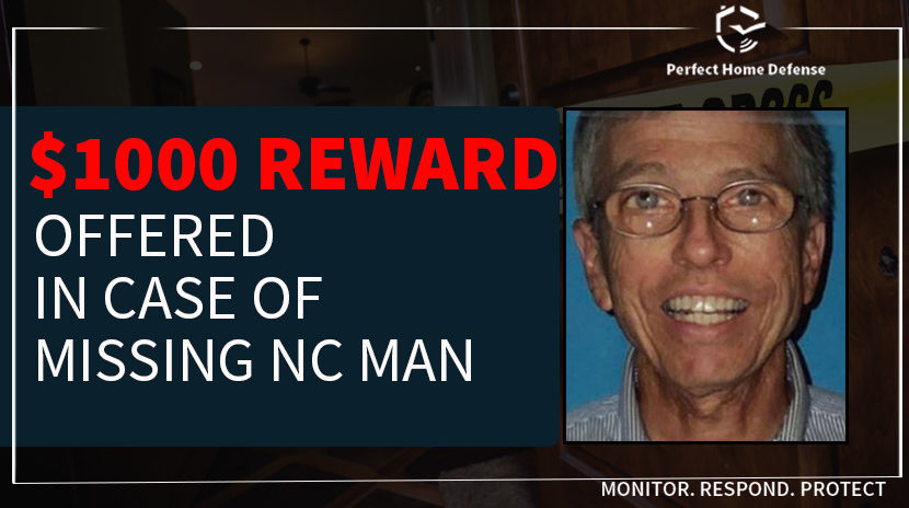 Prize Offered In Case Of Missing North Carolina Man
