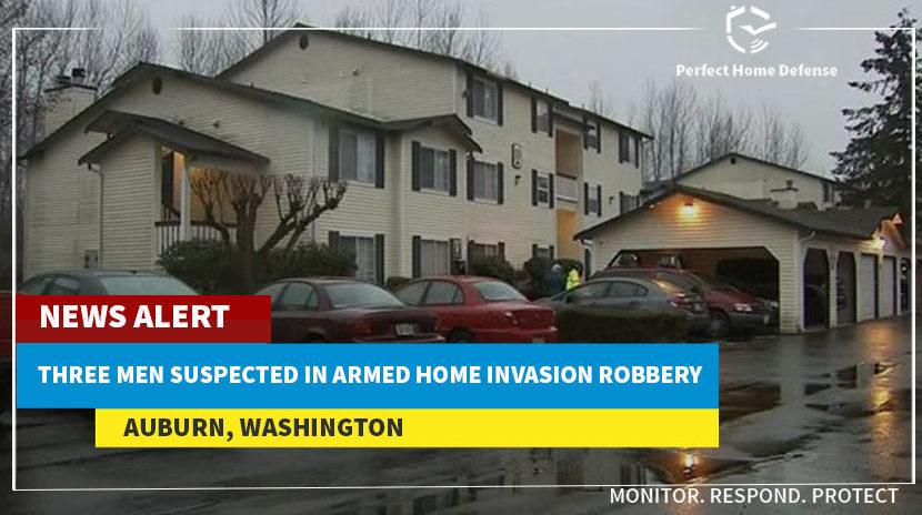 3 Men Suspected Of Armed Home Robbery In Auburn