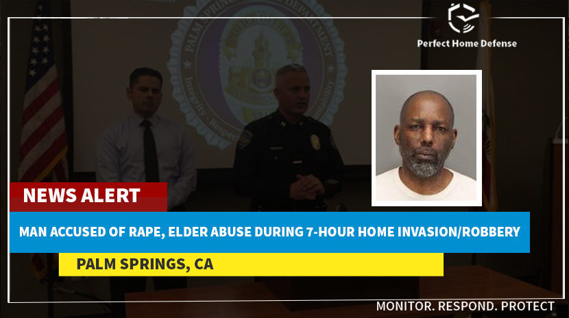 California Man Accused Of Rape And Elder Abuse