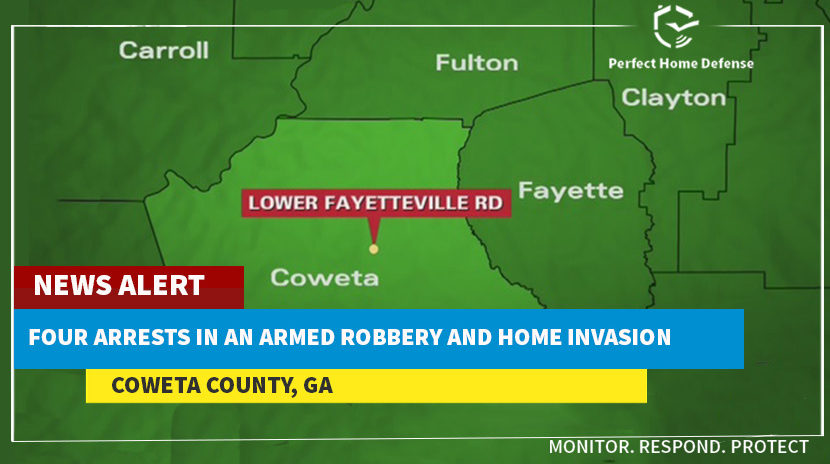 Coweta County armed burglary, Criminals Arrested