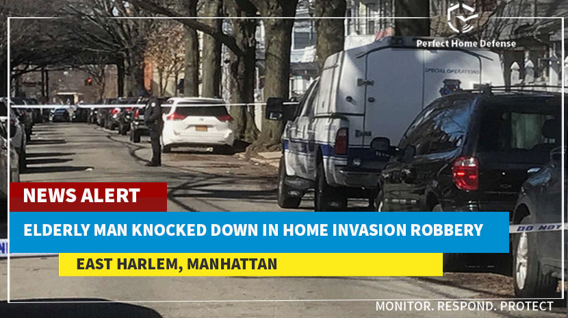 ELDERLY MAN ATTACKED IN MANHATTAN HOME INVASION