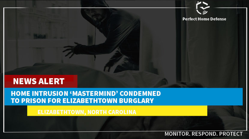 Home Intrusion 'Mastermind' Condemned To Prison For Elizabethtown Burglary