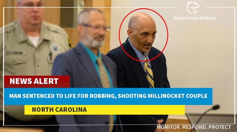 North Carolina Man Sentenced To Life For Robbing and Shooting