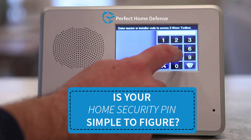 The Best Home Security PINs To Keep