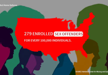 U.S. Metropolitan Areas Ranked By The Occurrence Of Listed Sex Offenders