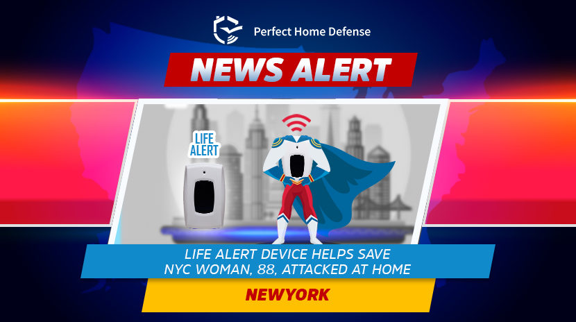 Life Safety Device Helps Save NYC Woman Attacked At Home