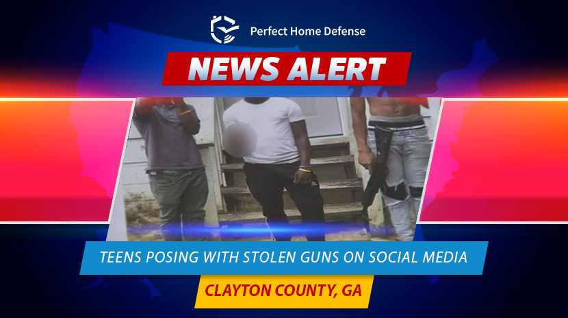 Man Says Teens Posing With Stolen Guns On Social Media