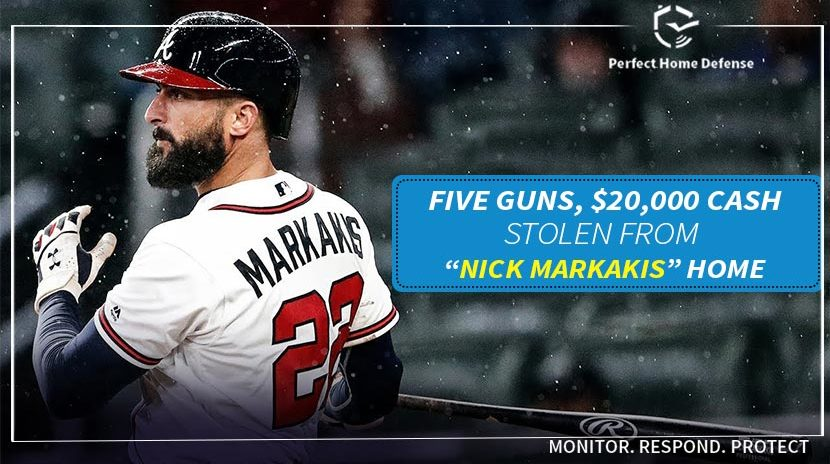 Money Stolen From Home Of Atlanta Braves Outfielder