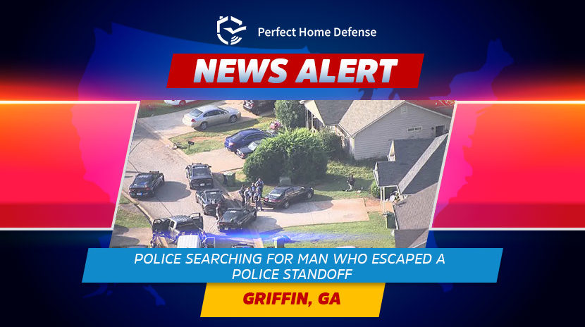 Griffin Police Search For Fugitive After SWAT Standoff