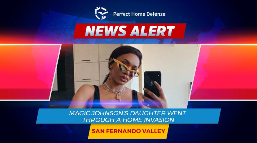 Magic Johnson's Daughter Went Through Home Assault