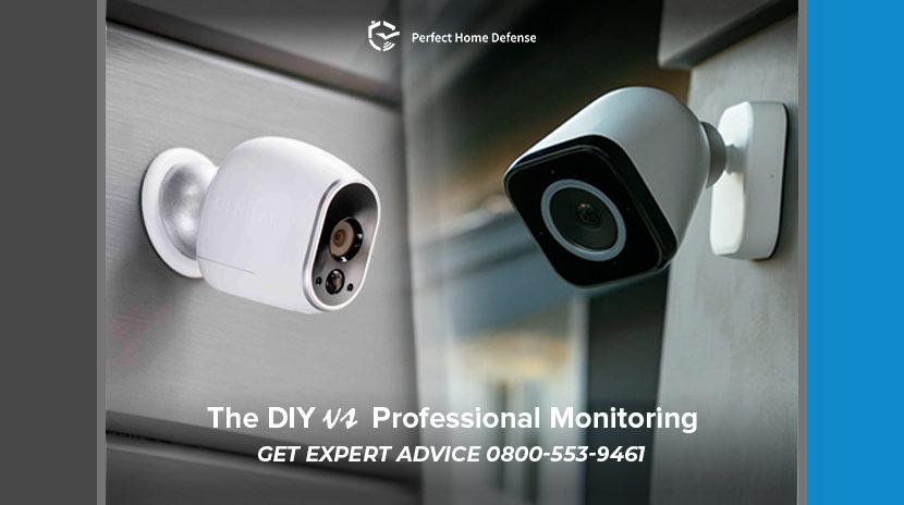 Professional Monitoring Vs Diy Monitoring