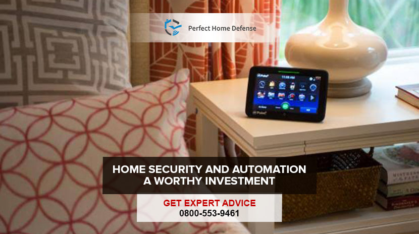 Home Security and Automation. A Worthy Investment.