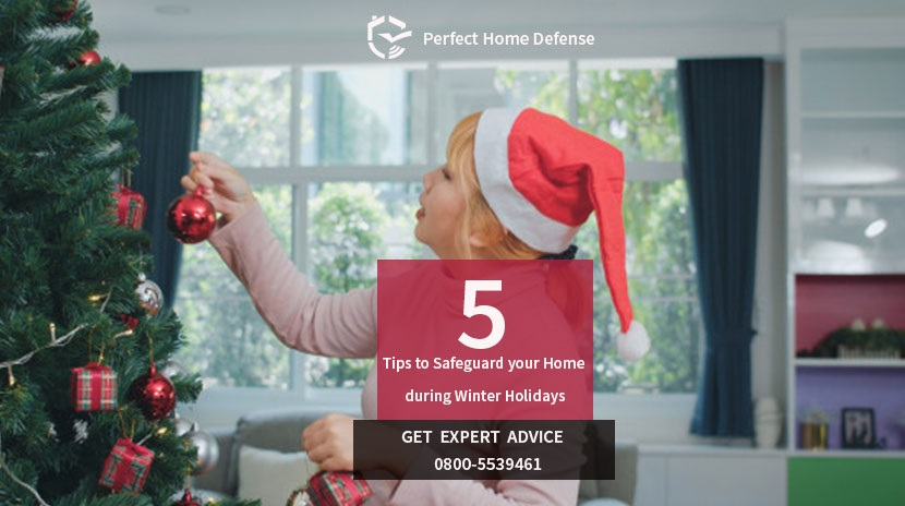 Spend your holiday carefree with Smart Home Security