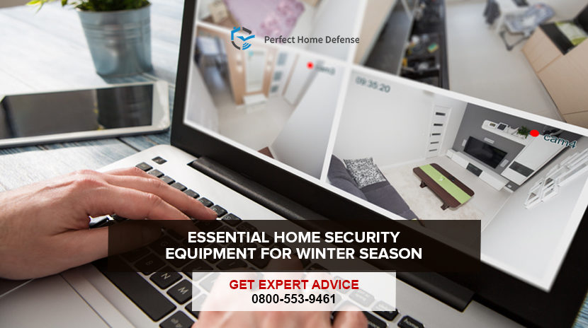 Essential Home Security Equipment for Winter Season