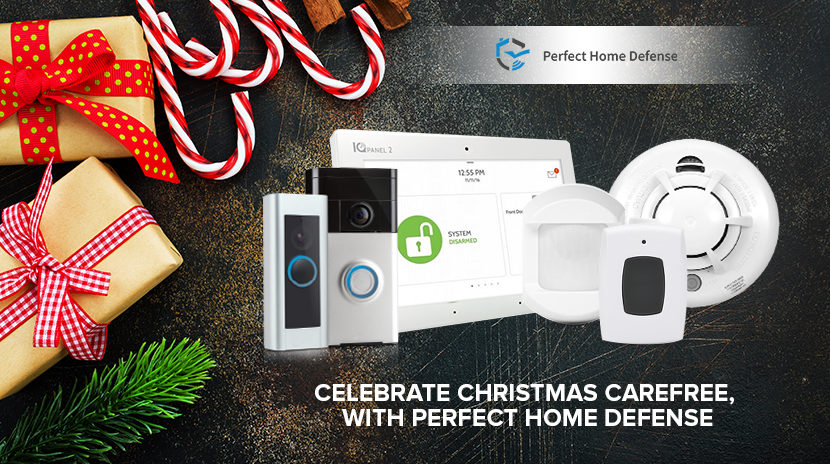 Celebrate Christmas Carefree, With Perfect Home Defense.