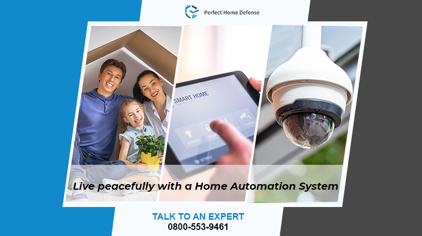 Live peacefully with a Home Automation System
