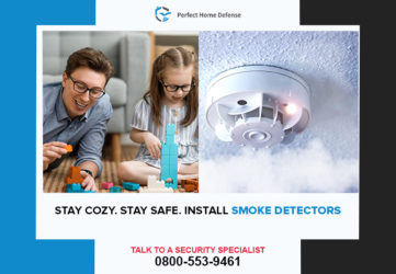 Stay Cozy. Stay Safe. Install Smoke Detectors