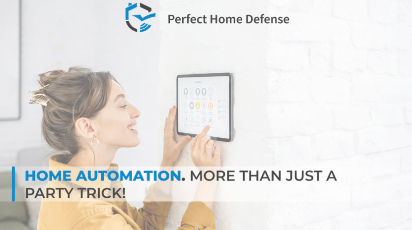 Home Automation. More than just a party trick!